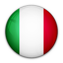 of, italy, flag icon