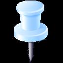 needlewhite, location, gps, needle icon