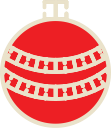 xmas, christmas, decoration, ball icon