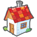 homepage, home, building, house icon