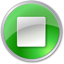 stop, green icon