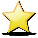 bookmark, star, favorite icon