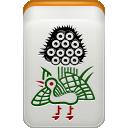 bamboo, mahjong icon