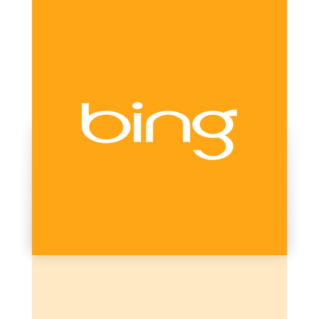 bing, mirror, alt icon