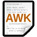 x, awk icon