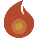 light, flame, candle, hot, fire icon