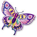 papillon, staroffice, summerbird, animal, butterfly icon