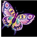 papillon, staroffice, summerbird, animal, butterfly icon