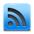 feed, blue, rssblue, subscribe, rss icon
