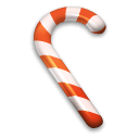 candy, christmas, cane, suger icon