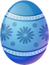 Blue, Easter, Egg icon