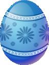 Blue, Easter, Egg icon