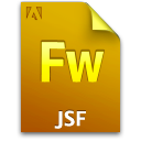 Document, File, Fw, Jsf icon