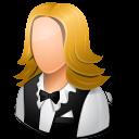Female, Light, Waitress icon