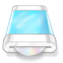 drive,blue,disk icon