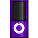 nano, ipod, purple icon