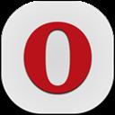Flat, Mini, Mobile, Opera icon