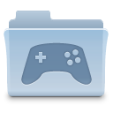 folder, game, gaming icon