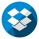 dropbox, storage, seo, cloud, internet, communication, database icon
