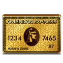 American, Express, Gold icon