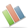 statistics, diagram, chart, stats, graph icon