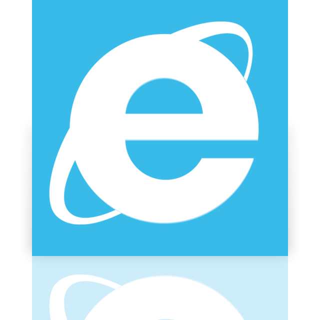 internet, mirror, explorer icon