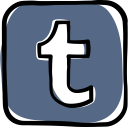 tumblr, social media, communication, social, media, web, network icon