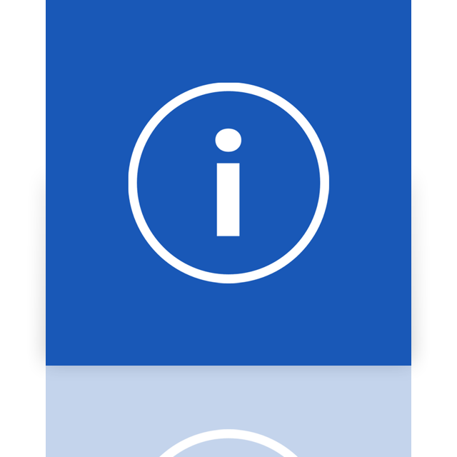 info, mirror icon