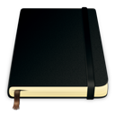 pure, notes, book, moleskine icon