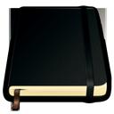 pure, notes, book, moleskine icon