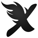 Express, Nero icon