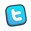 twitter, buttons icon