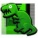 rex, dinosaur, tyrannosaurus, cartoon icon