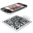 qr code iphone icon