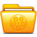 folder, movie, film, video icon