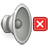 audio, 48, gnome, volume, muted icon