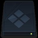 onyx, drive, bootcamp, folder icon