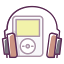 play, music, sound, headphones, device, audio, ipod icon