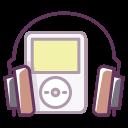 play, music, sound, headphones, device, audio, ipod icon