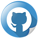 logo, connection, network, social, github icon
