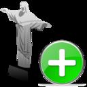 cristoredentor,add,plus icon