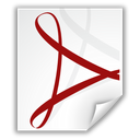 pdf, adobe, file icon