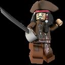 Jack, Lego, Sparrow icon