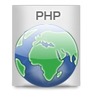 File Types PHP icon