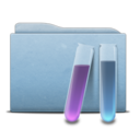 Folder Blue Experiences icon