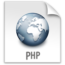 php, file, z icon