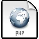 php, file, z icon