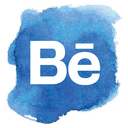 social network, social media, social, behance icon