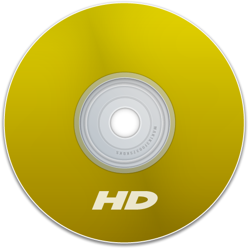 disk, save, dvd, yellow, cd, disc, hd icon