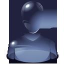 user, human, person icon
